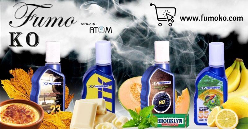 FUMO KO - Offerta vendita online liquidi pronti Motorrad per sigaretta elettronica Verona