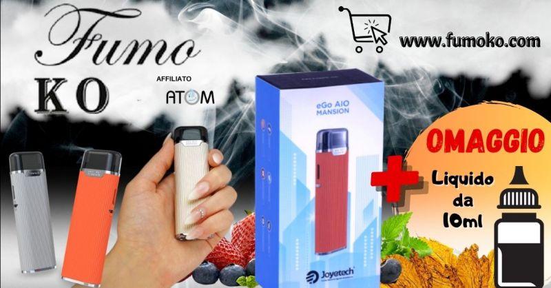 FUMO KO - Promozione sigaretta elettronica Joyetech eGo AIO Mansion shop online Treviso
