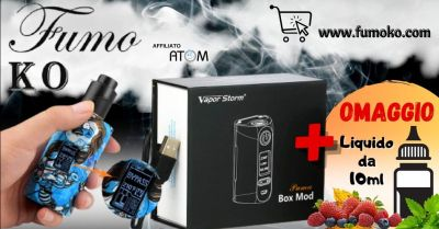 fumo ko offerta vapor storm puma box mod sigaretta elettronica acquisto online trento