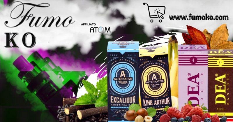FUMO KO - Promozione shop online ingrosso liquidi pronti per sigaretta elettronica Trento