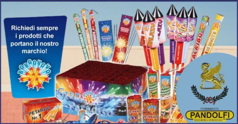 PANDOLFI - occasione vendita fuochi d'artificio Lucca e Versilia