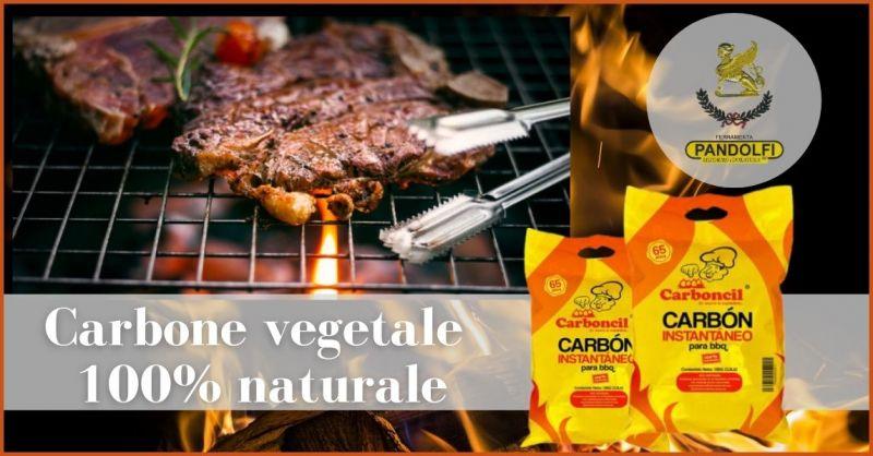 occasione carbone ad accensione istantanea per barbecue Versilia - PANDOLFI