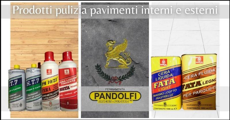 occasione prodotti per la pulizia dei pavimenti interni e esterni Lucca - PANDOLFI