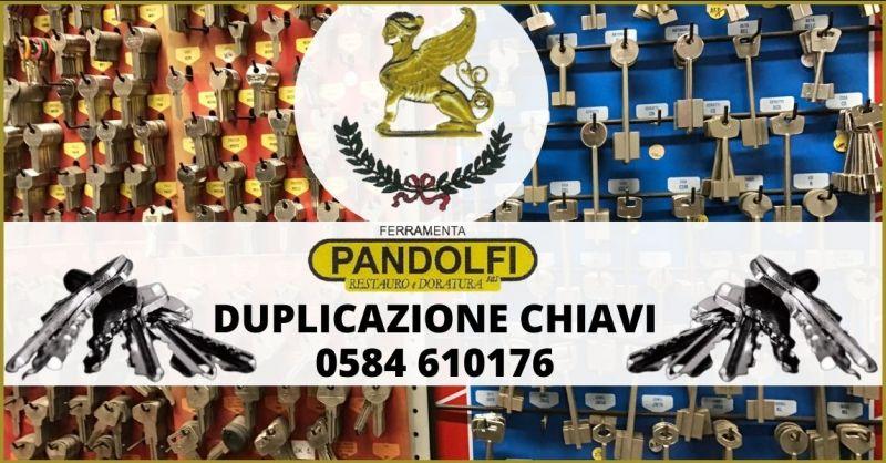 offerta servizio duplicazione chiavi Lucca e Versilia - PANDOLFI SAS