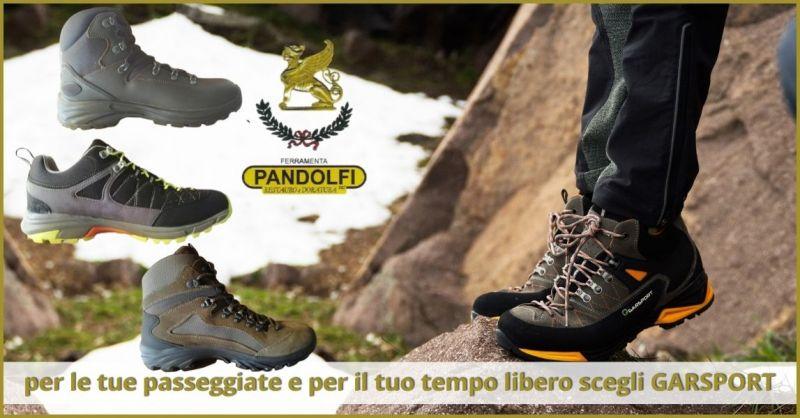 promozione scarpe da trekking e camminata Versilia - offerta scarponi da montagna GARSPORT