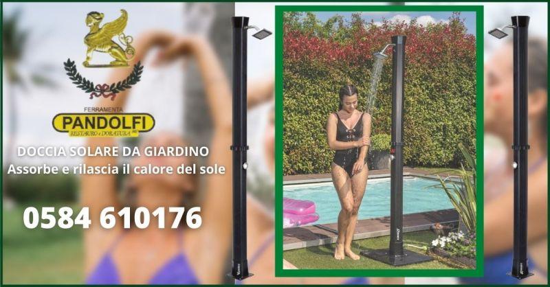 offerta doccia solare da giardino senza elettricita Lucca e Versilia - PANDOLFI SAS
