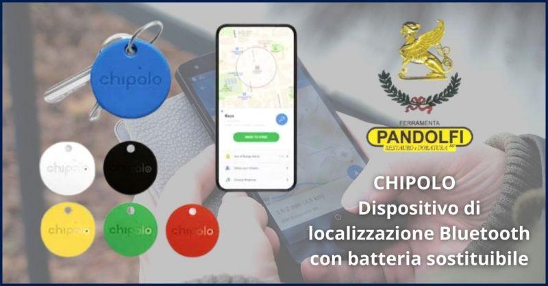 promozione dispositivo di localizzazione Bluetooth con batteria sostituibile CHIPOLO a Lucca e Versilia