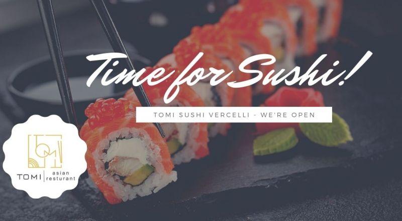 Occasione nuova apertura sushi resturant a Vercelli – Offerta all you can eat ristirante giapponese a Vercelli