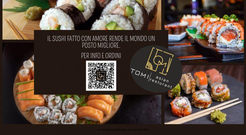 Occasione vendita sushi da asporto a Vercelli a Novara – offerta suhi all you can eat, consegna a domicilio a Vercelli a Novara