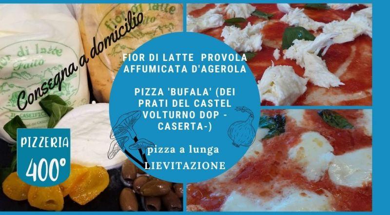 Offerta pizza con prodotti tipici campani a Novare a Vercelli – Occasione pizza d'asporto con forno a legna a Novare a Vercelli