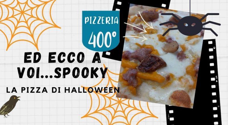 Vendita pizza speciale in tema halloween a Vercelli a Novara – Occasione pizza con crema di zucca a Vercelli a Novara