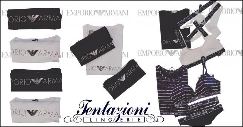 offerta abbigliamento intimo donna Armani Lucca e Versilia - TENTAZIONI LINGERIE