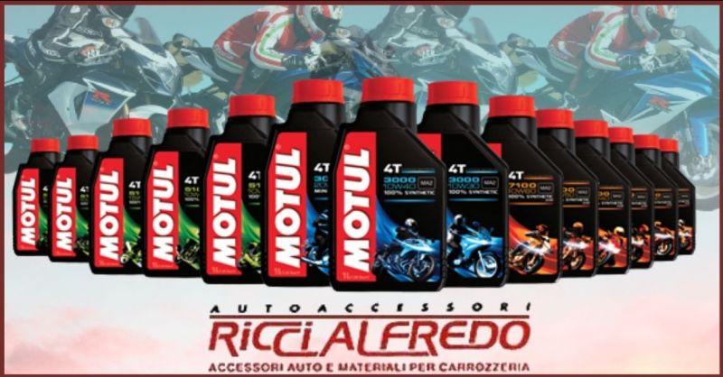 AUTOACCESSORI RICCI - occasione vendita lubrificanti e oli motori Motul Lucca