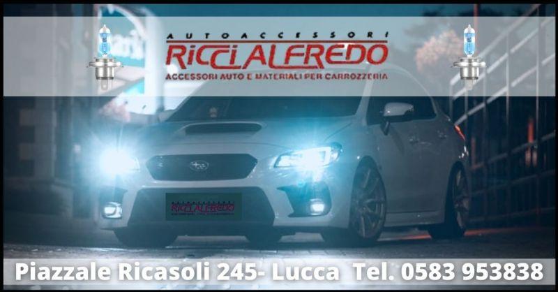 promozione vendita lampade OSRAM per illuminazione auto Lucca - AUTOACCESSORI RICCI