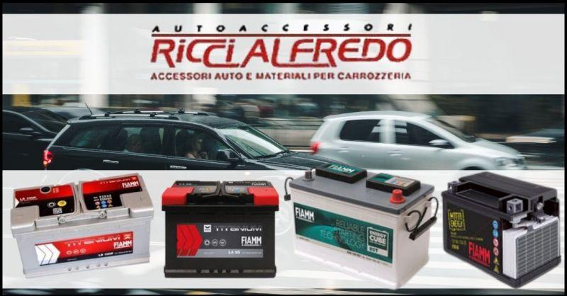 occasione batterie FIAMM per veicoli e moto Lucca - autoricambi e autoaccessori Lucca