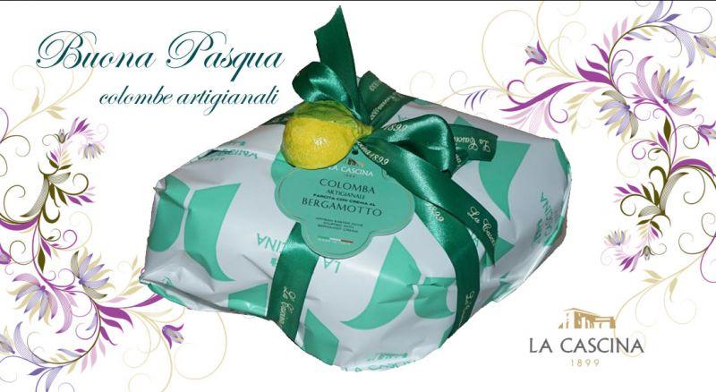 La Cascina 1899 - Offerta colombe pasquali SPEDIZIONE IN TUTTA ITALIA - promozione colombe pasquali artigianali al bergamotto