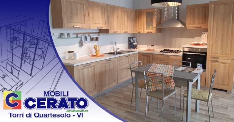 Offerta Cucina ad angolo Scavolini Vicenza - Occasione Cucina angolo con elettrodomestici Vicenza