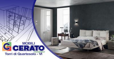 offerta arredamento zona notte di design italiano vicenza occasione soluzioni di cabine armadio vicenza