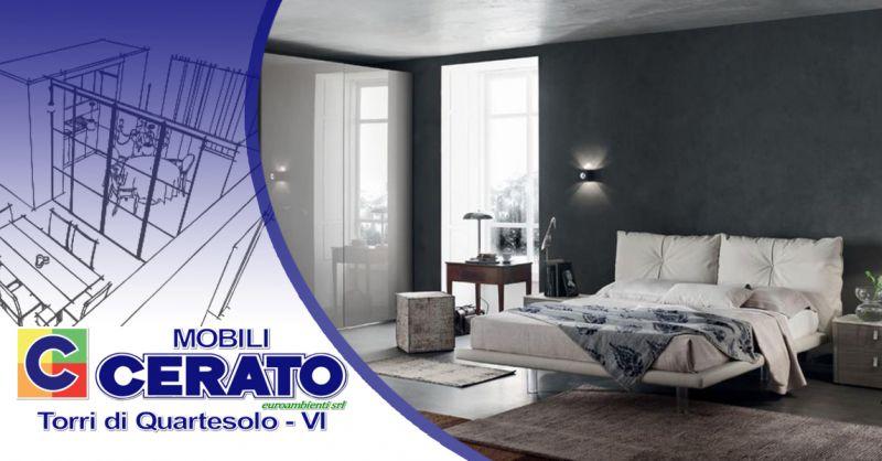 Offerta Arredamento zona notte di design italiano Vicenza - Occasione Soluzioni di cabine armadio Vicenza