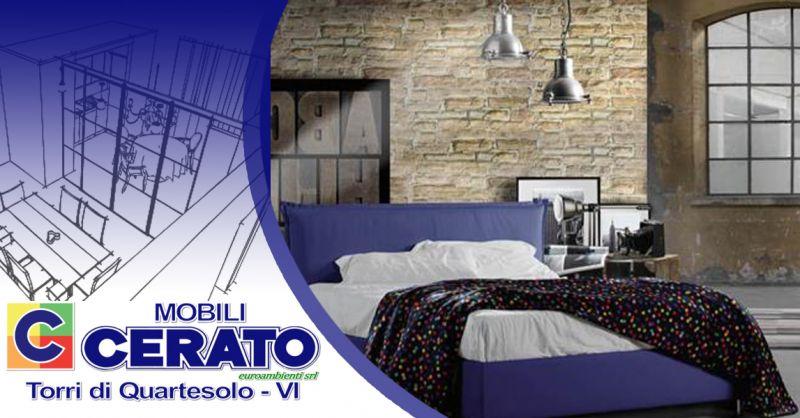 Offerta Vendita Letti Imbottiti made in Italy Vicenza - Occasione letto imbottito con contenitore Vicenza