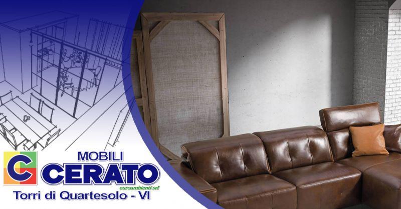 Offerta Divani Made in Italy Delta Salotti Vicenza - Occasione Divani in Pelle marchio DELTA SALOTTI Vicenza