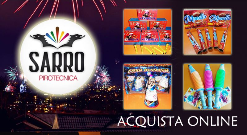 Pirotecnica Sarro - Offerta vendita online fuochi d'artificio – promozione vendita online giochi pirotecnici