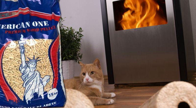 Offerta pellet American One Siderno – promozione pellet riscaldamento domestico Siderno