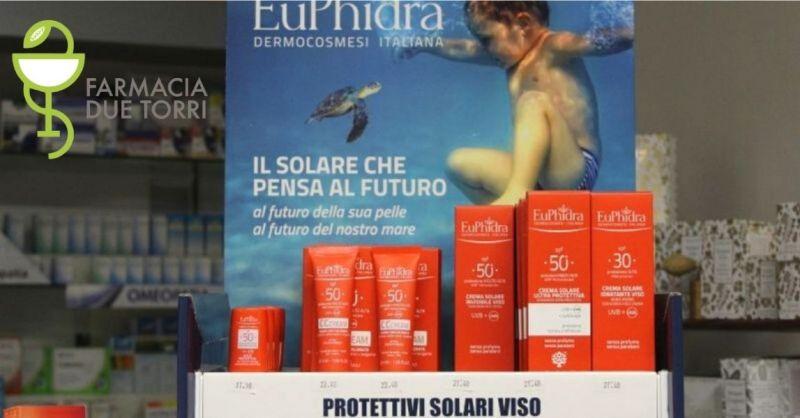 FARMACIA DUE TORRI - Offerta vendita creme solari Euphidra Castiglione Mantovano