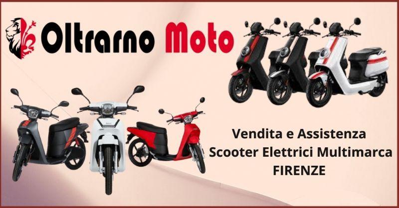 offerta scooter elettrici multimarca Firenze- Vendita e assistenza scooter elettrici