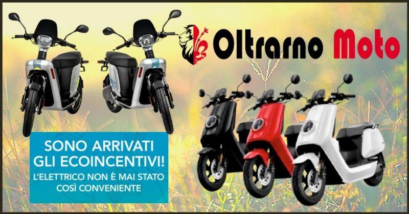 promozione offerta Ecobonus e Incentivi 2020 su scooter elettrici  Firenze - OLTRARNO MOTO