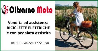 oltrarno moto occasione vendita e assistenza bicicletta con pedalata assistita
