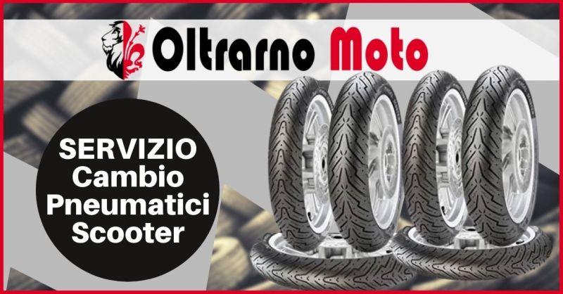 occasione cambio pneumatici scooter Firenze - OLTRARNO MOTO