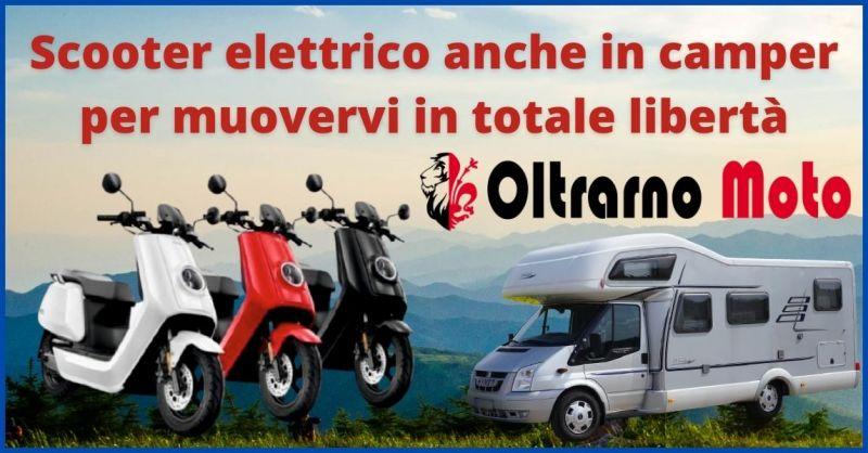 promozione scooter elettrico per camper Firenze - OLTRARNO MOTO