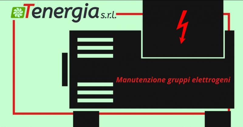 TENERGIA SRL - Offerta manutenzione gruppi elettrogeni pomezia