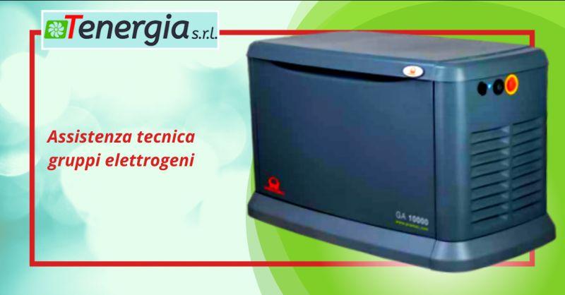 TENERGIA SRL - Offerta assistenza tecnica gruppi elettrogeni Aprilia