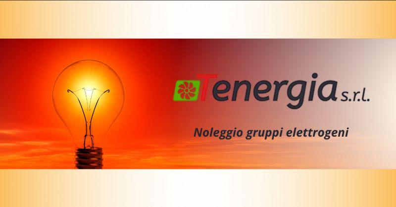 TENERGIA SRL - Offerta servizio di noleggio gruppi elettrogeni frosinone