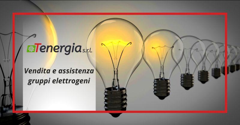TENERGIA SRL - Offerta vendita e assistenza tecnica gruppi elettrogeni metano ostia
