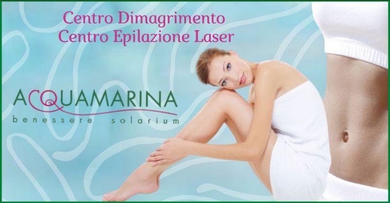 ACQUAMARINA - offerta centro dimagrimento e centro epilazione laser Pistoia