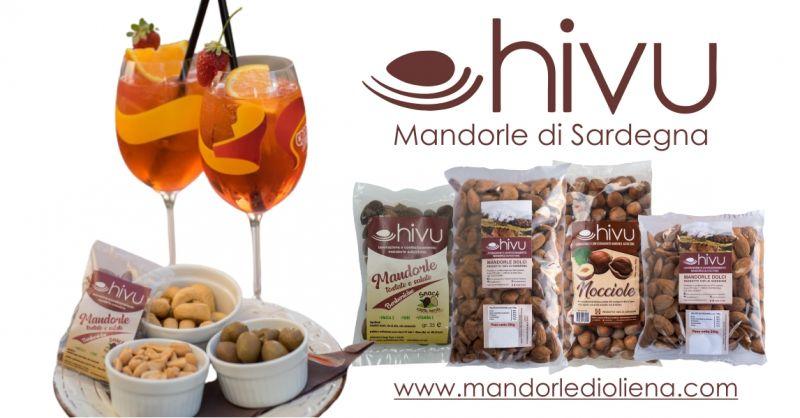 Hivu di Giorgio Carente Shop - offerta sacchetti monodose di mandorle tostate e salate