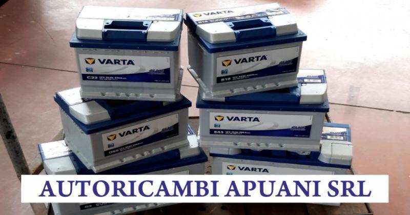 autoricambi apuani offerta vendita batterie auto - occasione batteria auto varta massa carrara