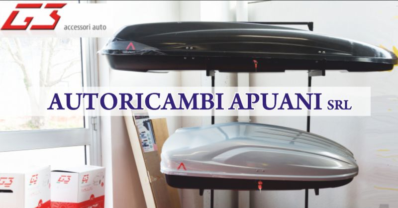 autoricambi apuani offerta box tetto auto - occasione box portatutto auto massa carrara