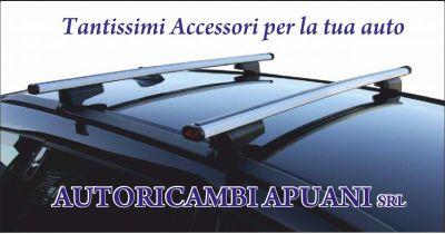 autoricambi apuani offerta porta bici per auto occasione barre portatutto per auto carrara