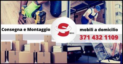 offerta consegna e montaggio mobili a domicilio in toscana biss trasporti