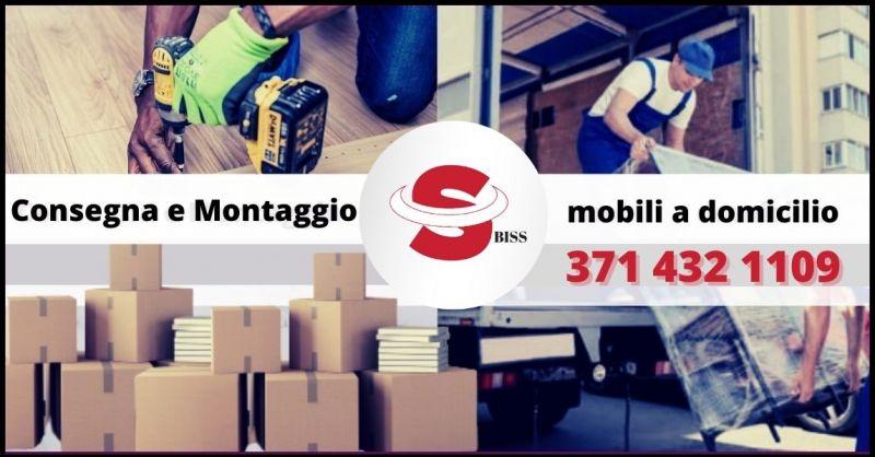 OFFERTA CONSEGNA E MONTAGGIO MOBILI A DOMICILIO IN TOSCANA - BISS TRASPORTI