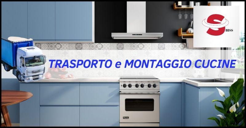 PROMOZIONE TRASPORTO E MONTAGGIO CUCINE - BISS TRASPORTI E MONTAGGIO