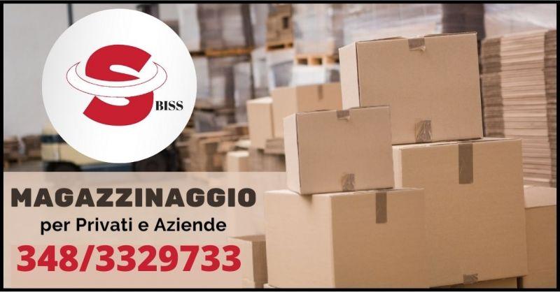 OCCASIONE SERVIZIO MAGAZZINAGGIO E DEPOSITO MOBILI - BISS TRASPORTI