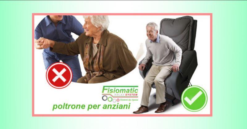 FISIOMATIC - offerta negozio poltrone ortopediche per anziani roma