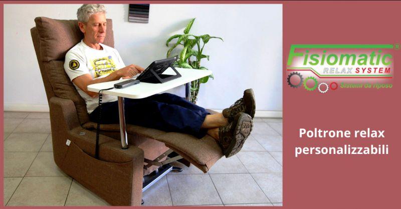 FISIOMATIC - offerta poltrone relax personalizzate roma