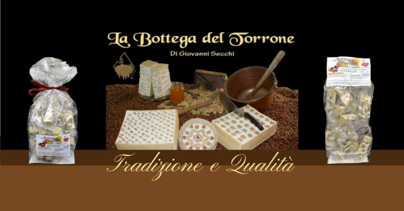 La Bottega del Torrone shop online - offerta torrone sardo artigianale di Pattada
