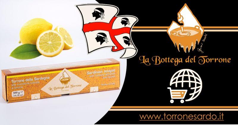 La Bottega del Torrone shop online - offerta torrone sardo al limone 300 gr